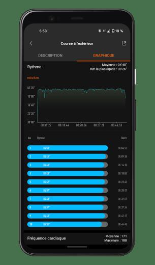 Xiaomi Mi Smart Band 6 - Mi Fit App - Run (2)