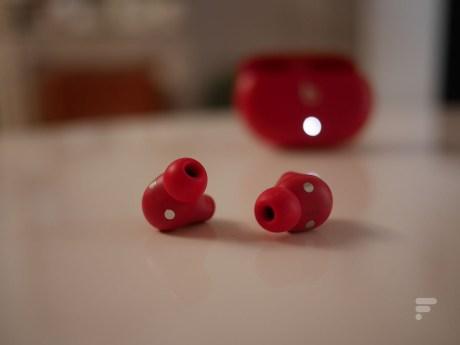 Les écouteurs Beats Studio Buds // Source : Frandroid