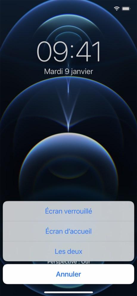 Comment changer son fond d'écran sur iPhone 07