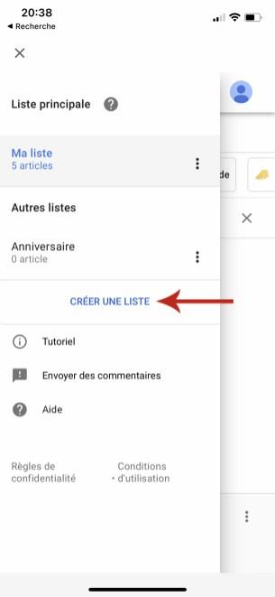Comment gérer et accéder sa liste de course sur Google Home 05