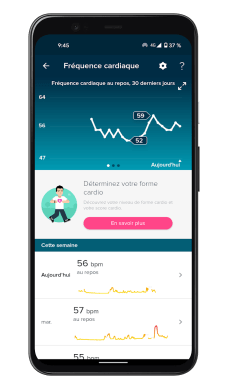 Fitbit Luxe - App - Heart rate (1)