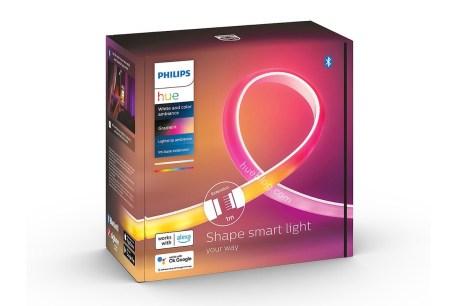 L'extension pour la future Philips Hue Gradient Lightstrip Ambiance // Source : Hueblog