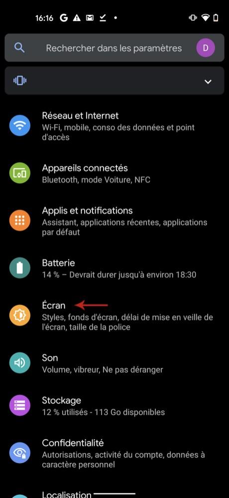 Comment mettre Snapchat en mode sombre sur Android 01
