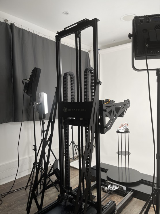Le scanner photogrammétrique genARation d'Atomic Digital Design // Source : Frandroid - Melinda DAVAN-SOULAS