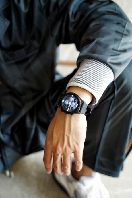 La montre connectée Honor Watch GS3 Racing Pioneer // Source : Weibo / Honor