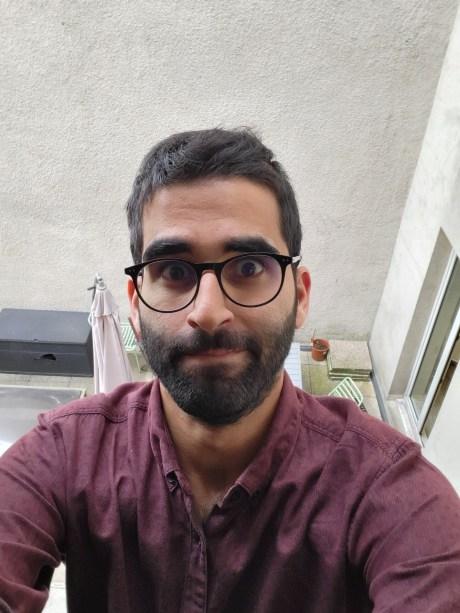 Selfie 1 Galaxy Z Fold 3