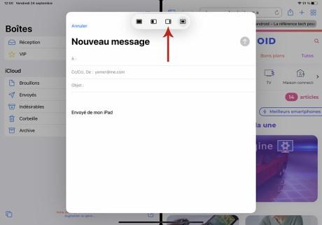 Comment gérer le multifenêtre sur iPad 34