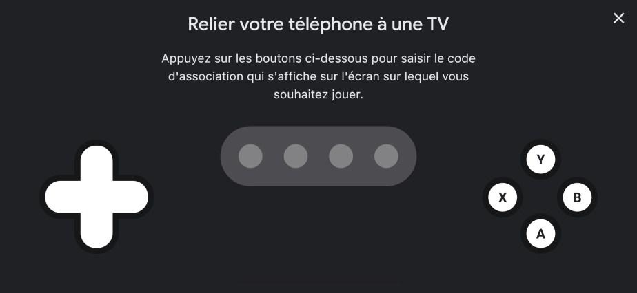 Jumelez votre smartphone à votre TV // Source : FRANDROID
