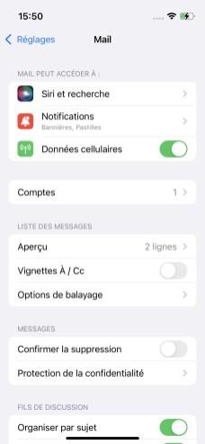 iPhone ajout de compte (3)
