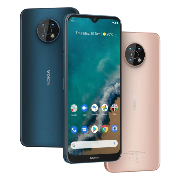 Le Nokia G50. // Source : Nokia