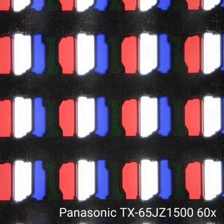 La dalle au microscope 60x.