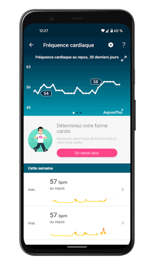 Fitbit Charge 5 - Application - Fréquence cardiaque (1)