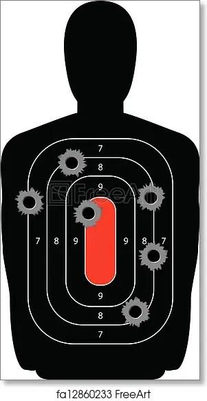 free printable shooting target # 32