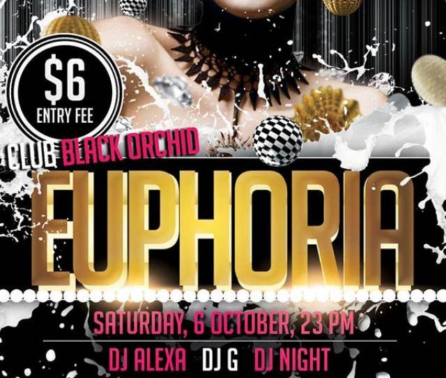 Euporia Psd Party Flyer