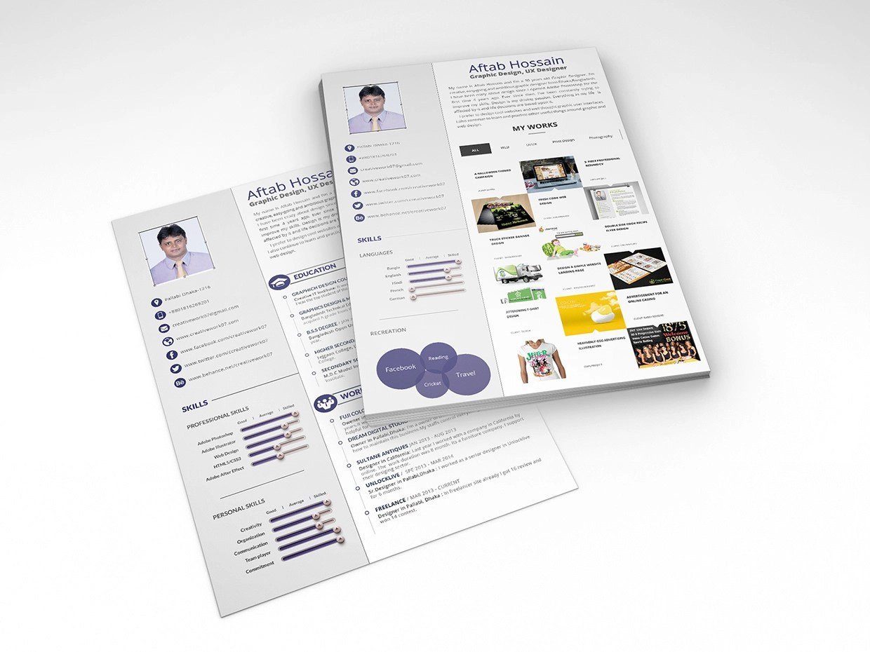 Free Microsoft Word Resume Templates  Free Microsoft Word Resume     Free Creative Resume Template Word