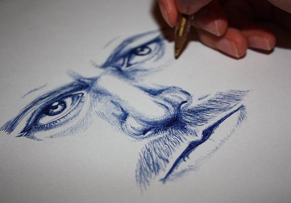 15 Ballpoint Pen Drawings JPG Download