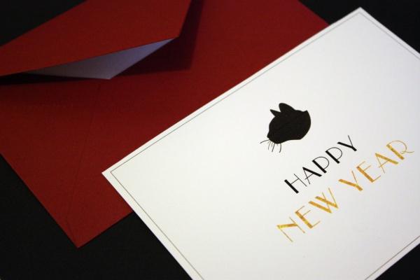 16 Free PSD New Year Greeting Card Designs FreeCreatives