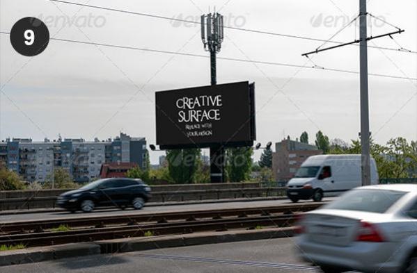 Outdoor Advertising Mockup PSD