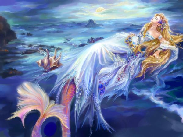 22+ Mermaid Wallpapers, Fish Backgrounds, Pictures, Images ...