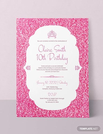 birthday party invitation designs