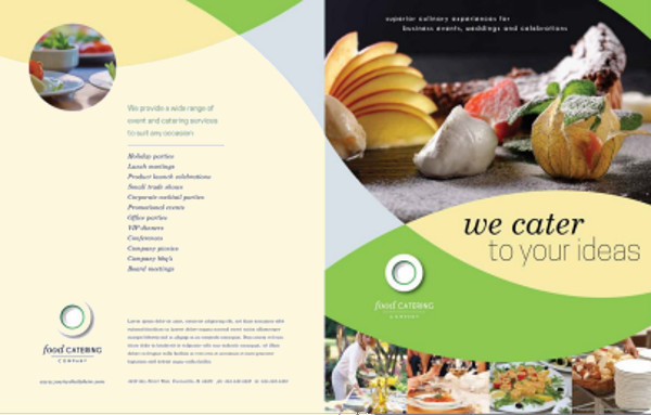 25  Catering Brochure Template   PSD  Vector EPS  JPG Download     Food Catering Brochure Template