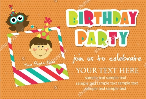 free 32 kids birthday invitations