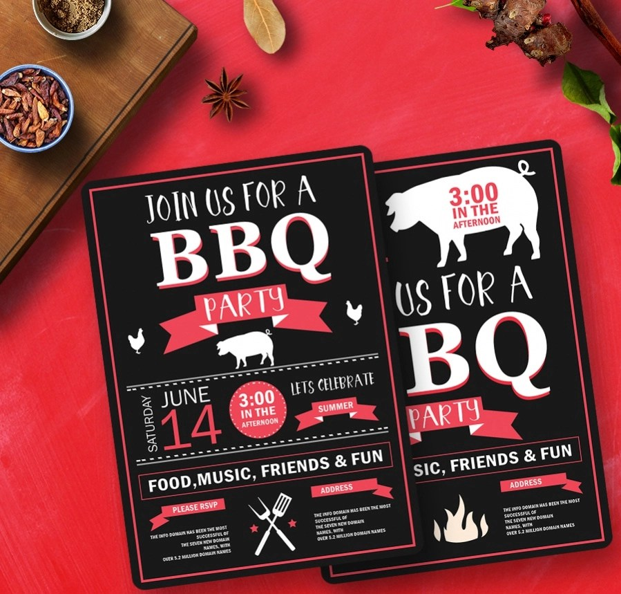 22  Free Invitations  Birthday  Dinner  Reunion  BBQ    Free     BBQ   Picnic Party Invitation Template