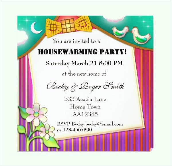invitation card for housewarming  paperinvite