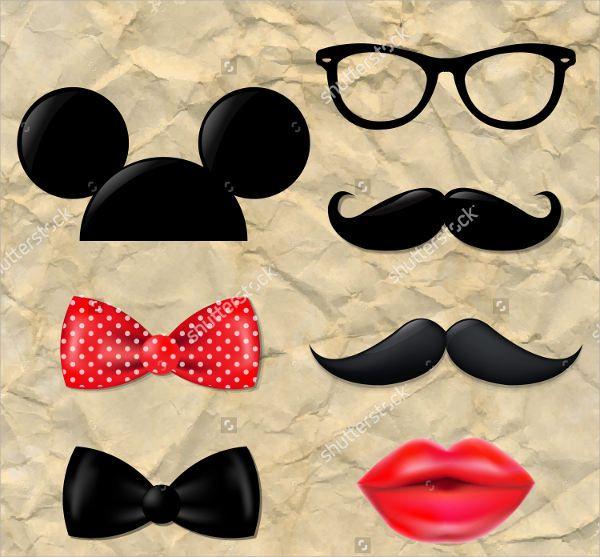 6 Mickey Mouse Silhouettes Jpg Vector Eps Ai