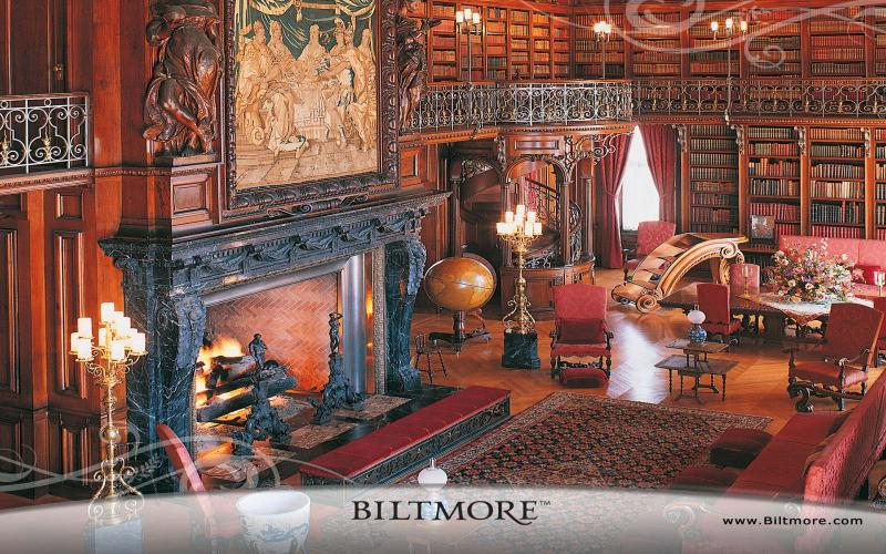HD Biltmore House Library Wallpaper Download Free 122663