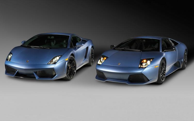 HD Lamborghini Gallardo Lp560 Vs Lamborghini Murcielago