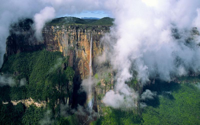 HD Tall Angel Falls Venezuela Wallpaper Download Free