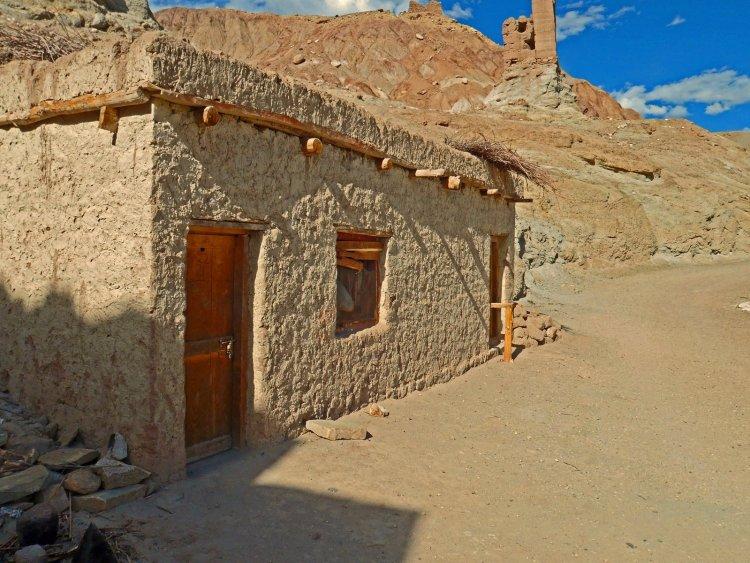 Ladakh Leh Brown Muddy House