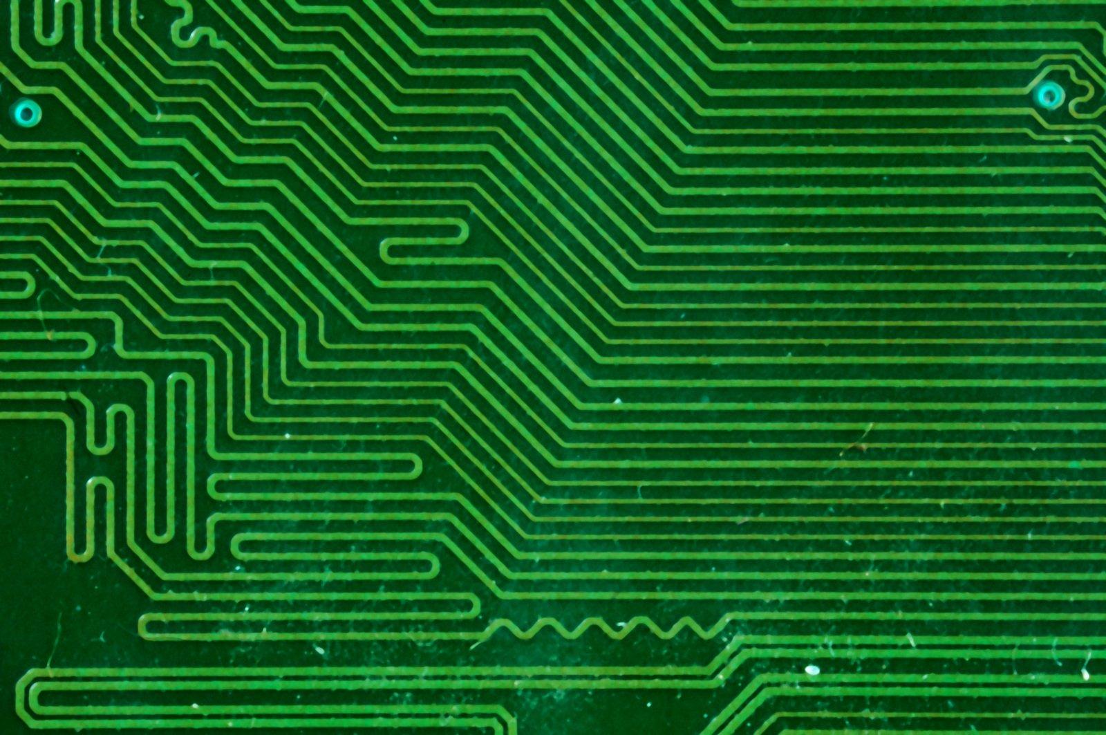 Free Circuit Board Texture 1 Stock Photo