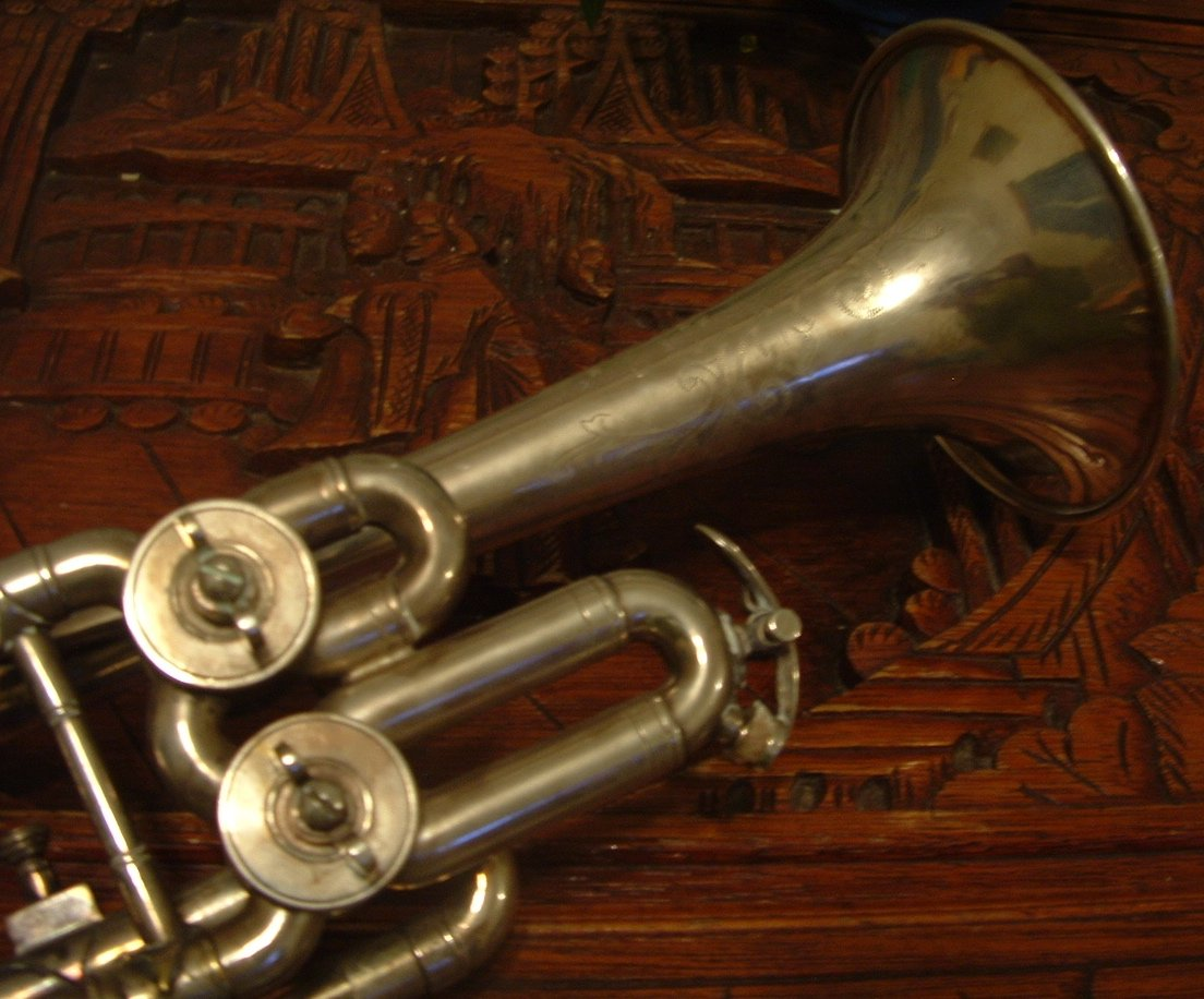 Free Dad S Trumpet Stock Photo