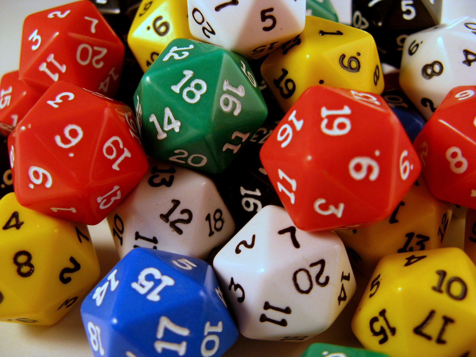 Free 20 Sided Dice 2 Stock Photo