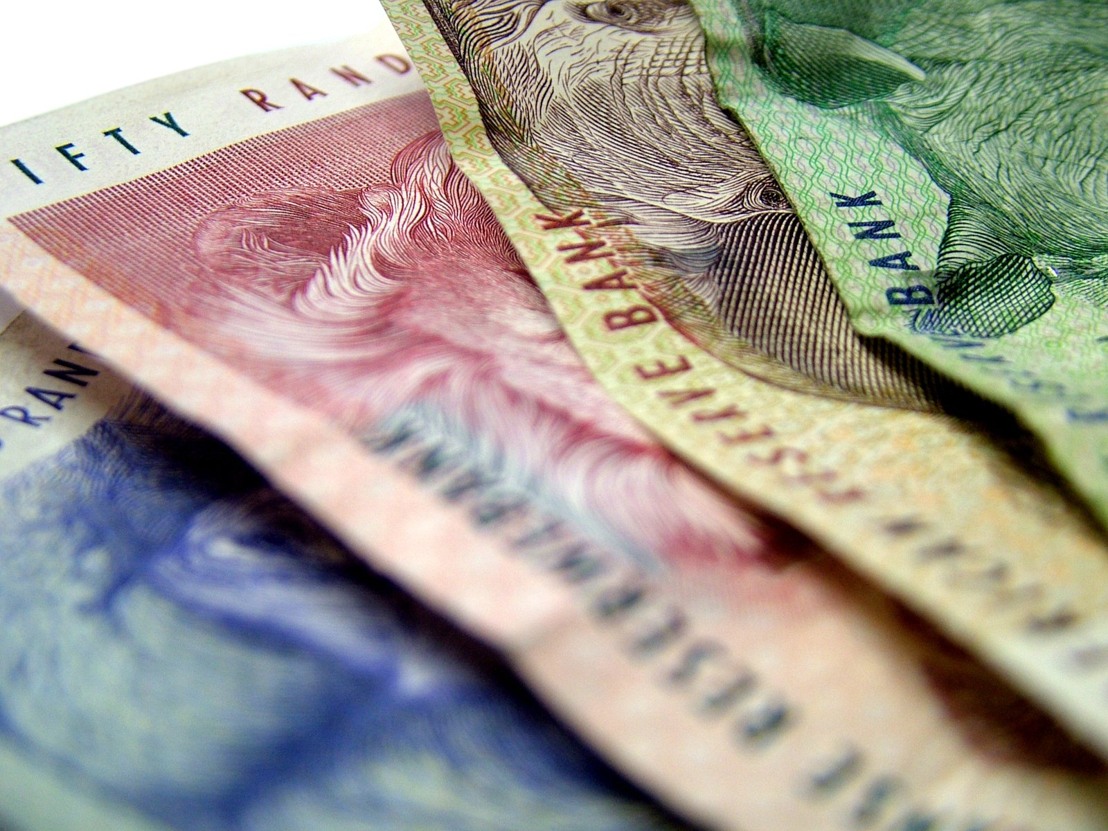 Free South African Money Stock Photo