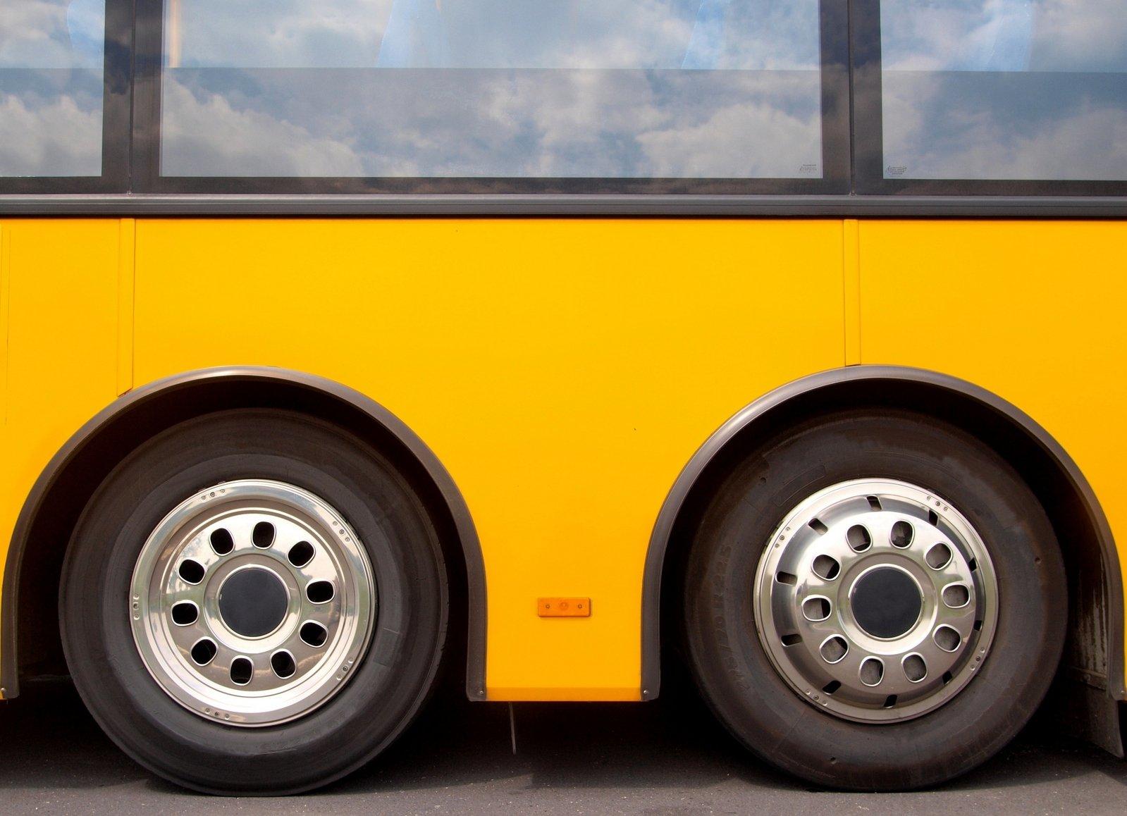 Free Wheels On A Bus Stock Photo
