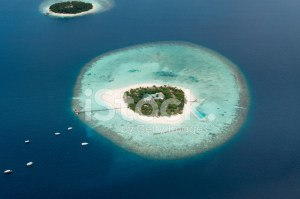 Aerial View of Maldive Islands Stock Photos  FreeImages