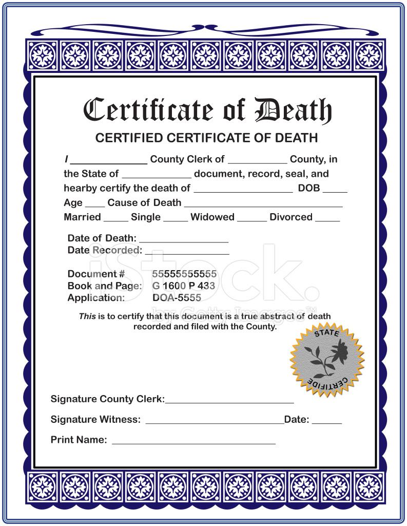 Haunted Mansion Death Certificate Birthday