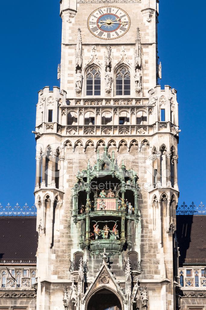 Glockenspiel Münih Belediye Binası Üzerinde Stok Fotoğrafları - FreeImages.com
