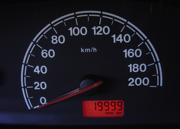 Velocidad del coche
