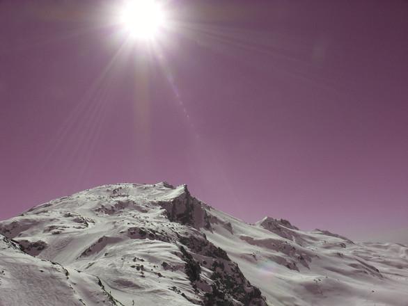 sunny mountain