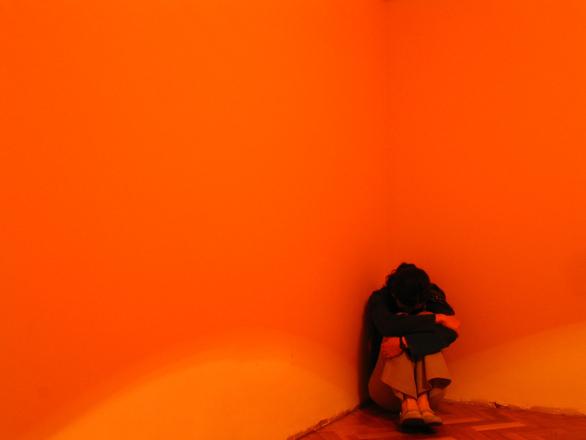 Chica de naranja 2
