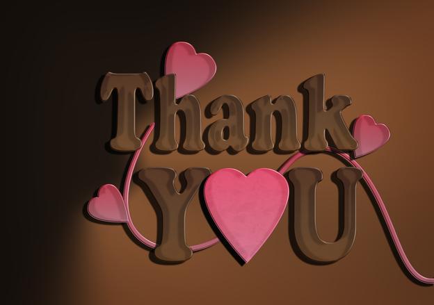 Chocolate Thank you