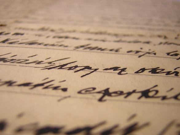Family letter in 1920 2
