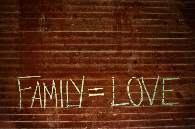 Familia = amor