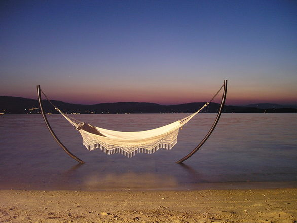 Sunset Relaxation by the sea