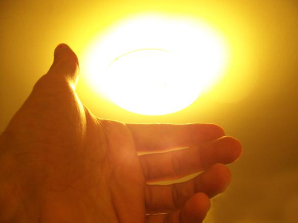 Luz de mano