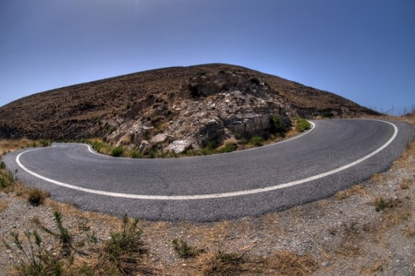 Free Hairpin bend - HDR Stock Photo - FreeImages.com